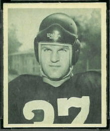 Joe Tereshinski 1948 Bowman football card