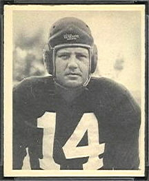 Tom Farmer 1948 Bowman football card