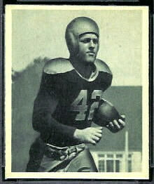 Bruce Smith 1948 Bowman football card