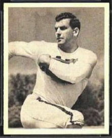 Bob Cifers 1948 Bowman football card
