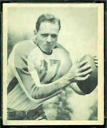 Ernie Steele 1948 Bowman football card