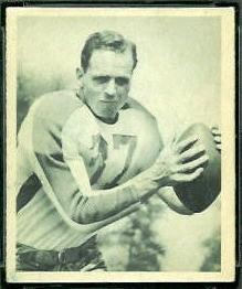 Ernie Steele 1948 Bowman football card