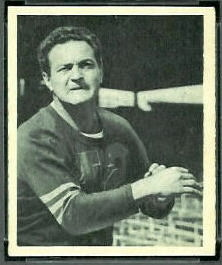 Sid Luckman 1948 Bowman football card