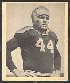 Buford Ray 1948 Bowman football card