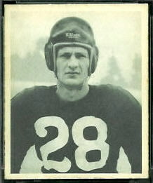 Hugh Taylor 1948 Bowman football card