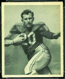 Frank Seno 1948 Bowman football card