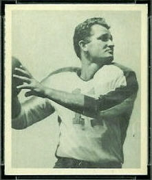 Tommy Thompson 1948 Bowman football card