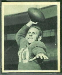 Art Faircloth 1948 Bowman football card