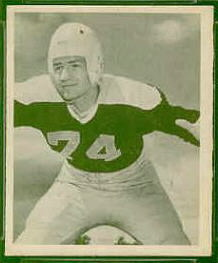 Larry Olsonoski 1948 Bowman football card