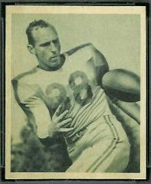 Bill Chipley 1948 Bowman football card