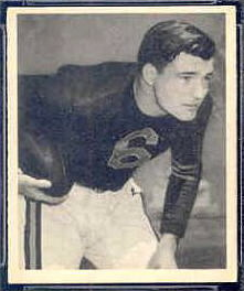 Don Kindt 1948 Bowman football card