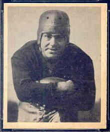 Tony Compagno 1948 Bowman football card
