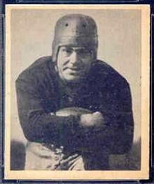 Tony Compagno 1948 Bowman football card