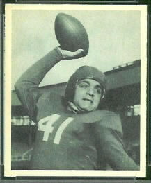 Paul Governali 1948 Bowman football card