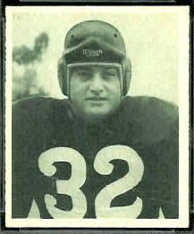 Salvatore Rosato 1948 Bowman football card