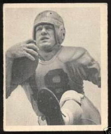 Fred Gehrke 1948 Bowman football card