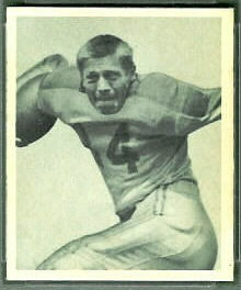 Mike Micka 1948 Bowman football card