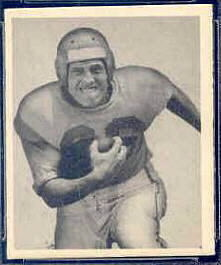 Pat West 1948 Bowman football card