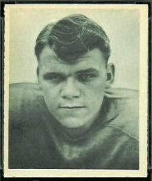 Russ Thomas 1948 Bowman football card