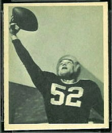 Bob Skoglund 1948 Bowman football card