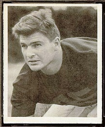 Walt Stickel 1948 Bowman football card