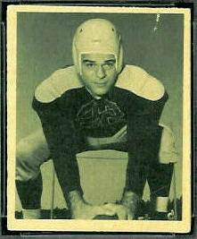 Jay Rhodemyre 1948 Bowman football card