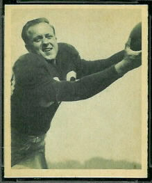 Mal Kutner 1948 Bowman football card