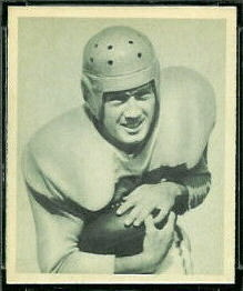 Gerard Cowhig 1948 Bowman football card