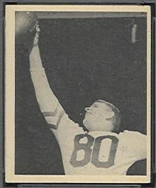 Neill Armstrong 1948 Bowman football card