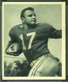 Frank Maznicki 1948 Bowman football card