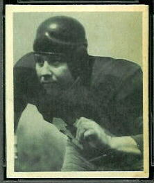 John Sanchez 1948 Bowman football card