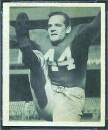 Frank Reagan 1948 Bowman football card