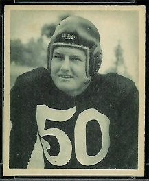 Robert Nussbaumer 1948 Bowman football card