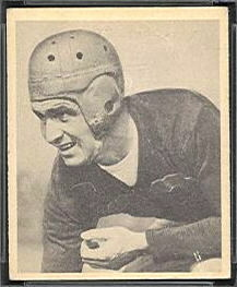 Elbert Nickel 1948 Bowman football card