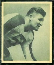 Alex Wojciechowicz 1948 Bowman football card