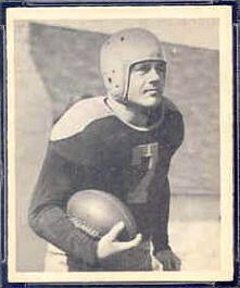 Walt Schlinkman 1948 Bowman football card