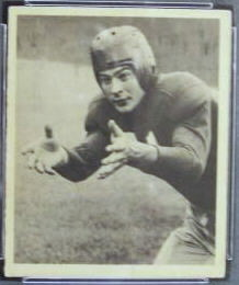 Joe Sulaitis 1948 Bowman football card