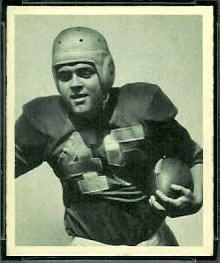 Mike Holovak 1948 Bowman football card
