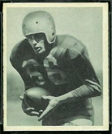 Cecil Souders 1948 Bowman football card