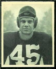 Paul McKee 1948 Bowman football card