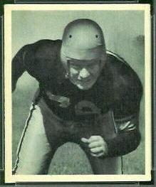 Bill Moore 1948 Bowman football card