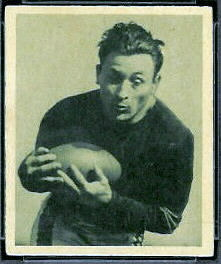 Frank Minini 1948 Bowman football card
