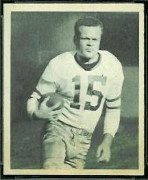 Steve Van Buren 1948 Bowman football card