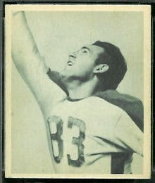 Jack Ferrante 1948 Bowman football card