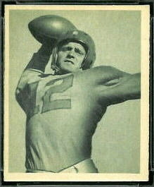 Leslie Horvath 1948 Bowman football card