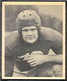 Tex Coulter 1948 Bowman football card