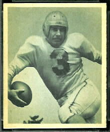 Dante Magnani 1948 Bowman football card