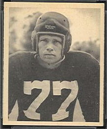 James Hefti 1948 Bowman football card