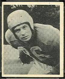 Paul Sarringhaus 1948 Bowman football card