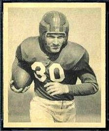 Joe Scott 1948 Bowman football card